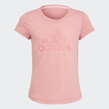 Camiseta AEROREADY Badge of Sport Rosa Meninas Training