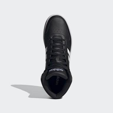 Heren Walking Zwart Hoops 2.0 Mid Schoenen