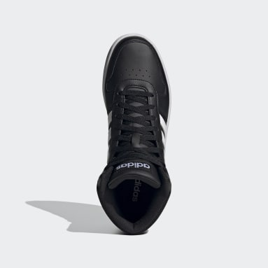 Men Walking Black Hoops 2.0 Mid Shoes