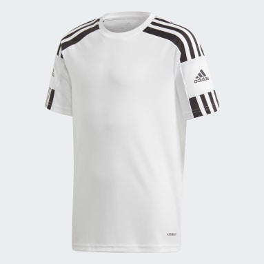 Youth 8-16 Years Football White Squadra 21 Jersey