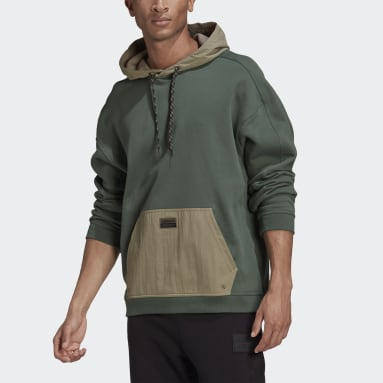 Men Originals Green R.Y.V. Utility Hoodie