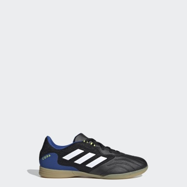 Children Soccer Black Copa Sense.3 Indoor Sala Shoes