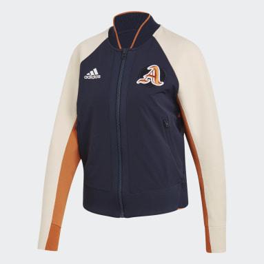 Women Sportswear Blue VRCT Jacket