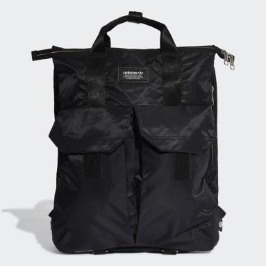 Originals Black Modern Utility Three-Way Bag
