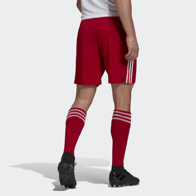 Short Squadra 21 Rouge Hommes Football