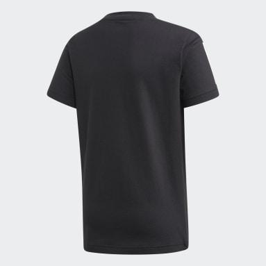 Jongens Fitness En Training Zwart Sport ID T-shirt