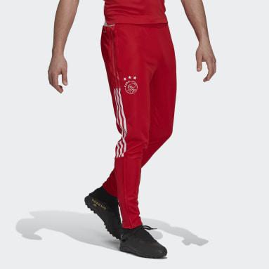 Pantalón entrenamiento Ajax Tiro Rojo Hombre Fútbol
