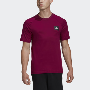 Camiseta Must Haves Stadium Burgundy Hombre Sportswear