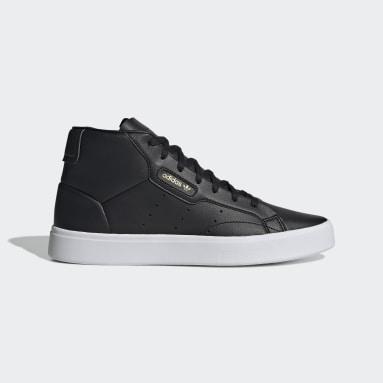 Women's Originals Black adidas Sleek Mid Shoes