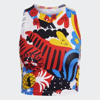 Top adidas Sportswear Egle Graphic Multicolor Mujer Sportswear