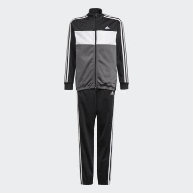 Youth 8-16 Years Sportswear Black adidas Essentials Tracksuit