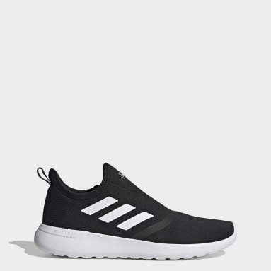 Men Sport Inspired Black Lite Racer Slip-On Shoes