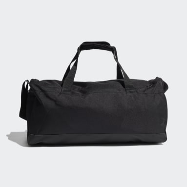 Essentials Logo Duffel Bag Medium Czerń