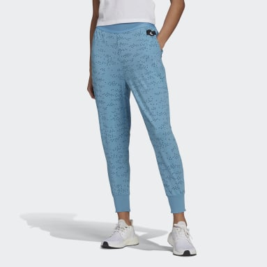 Women's Sportswear Blue adidas Sportswear Winners Allover Print Pants