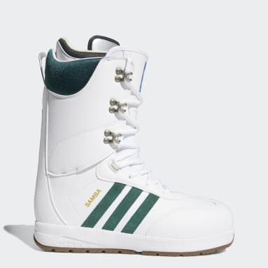 Men's Snowboarding White Samba ADV Boots