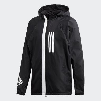 Casaca ID WND Fleece-Lined Negro Hombre Sportswear