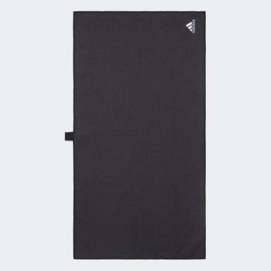 Men Golf Black Towel Large