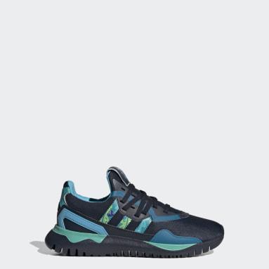 Kinderen Originals Blauw Originals Flex Schoenen