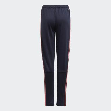 Pantalon adidas Designed To Move 3-Stripes Bleu Filles Sportswear