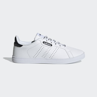 Women Tennis White Courtpoint Base Shoes