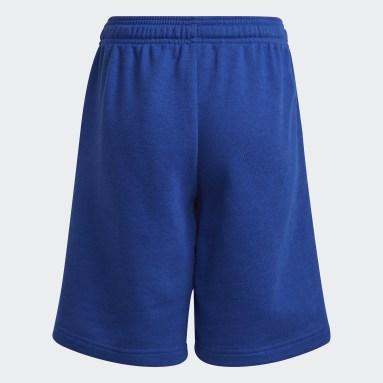 Boys Lifestyle Blue adidas Essentials Shorts