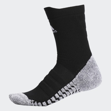 Men's Training Black Alphaskin Traxion Lightweight Socks