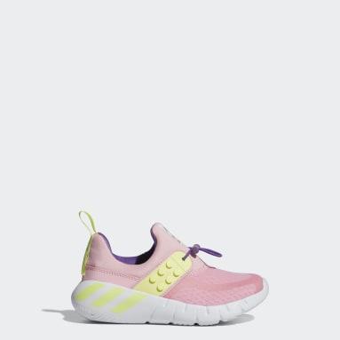 Kids Lifestyle Pink adidas RapidaZen x LEGO® Shoes