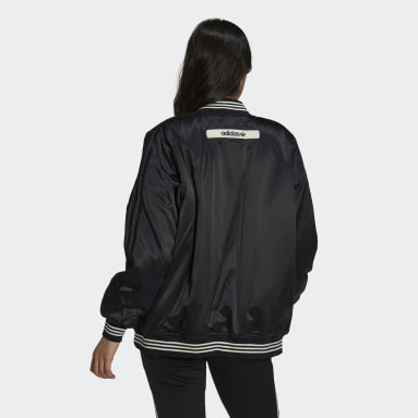 Chaqueta Girls Are Awesome Collegiate Negro Mujer Originals