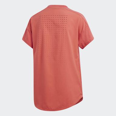 Playera adidas Z.N.E. Rojo Mujer Sportswear