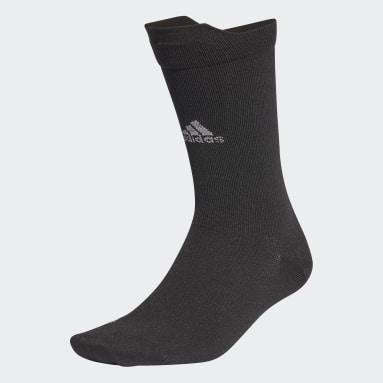 Training Black Alphaskin Ultralight Performance Reflective Crew Socks