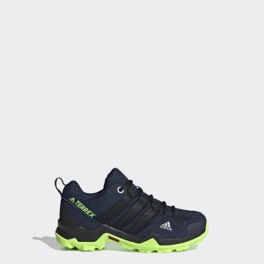 Children TERREX Blue Terrex AX2R Hiking Shoes