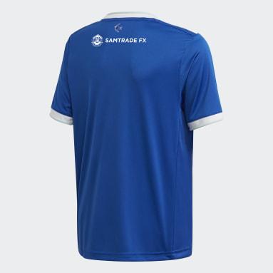 Kinder Fußball Cardiff City FC 20/21 Heimtrikot Blau