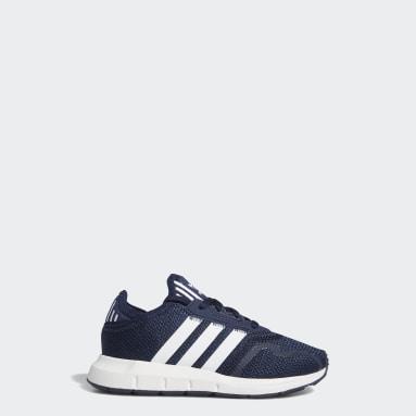 Kids 4-8 Years Originals Blue Swift Run X Shoes
