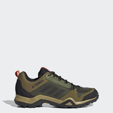 Men TERREX Green Terrex AX3 Hiking Shoes