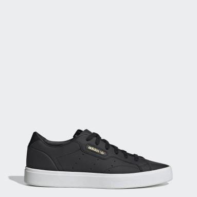 Ženy Originals čierna Tenisky adidas Sleek