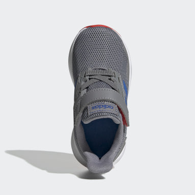 Kids Running Grey Duramo 9 Shoes