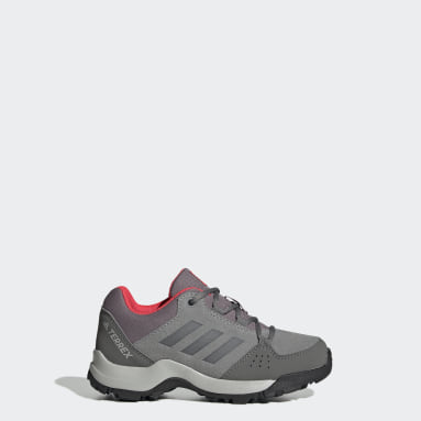 Chaussure de randonnée Terrex Hyperhiker Low Leather Gris Enfants TERREX