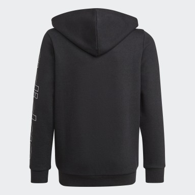 Boys Sportswear Black Essentials Hoodie