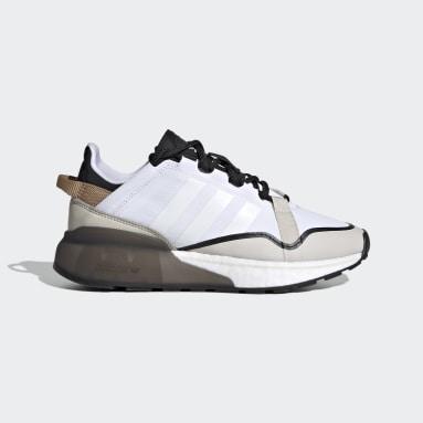 Sapatos ZX 2K Boost Pure Branco Criança Originals