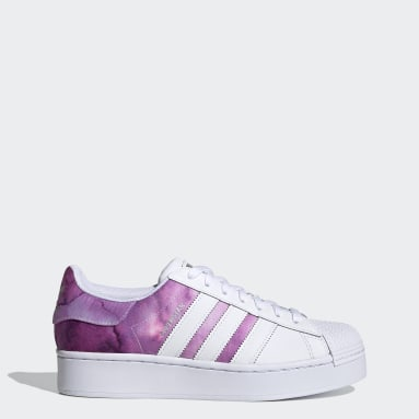 Women Originals Purple Superstar Bold Shoes