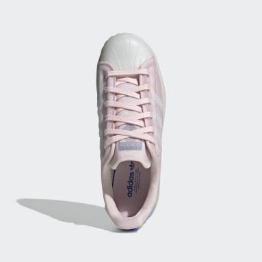 Ženy Originals ružová Tenisky Superstar Futureshell