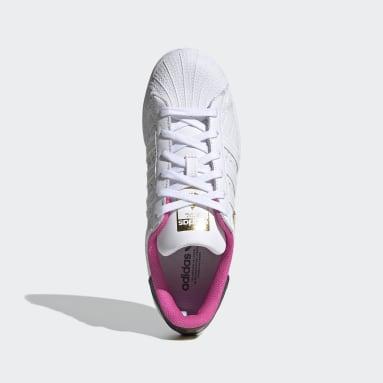 Dames Originals Roze Superstar Schoenen
