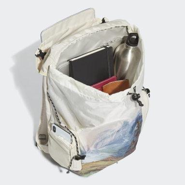 Training Beige Explorer Primegreen Graphic Backpack