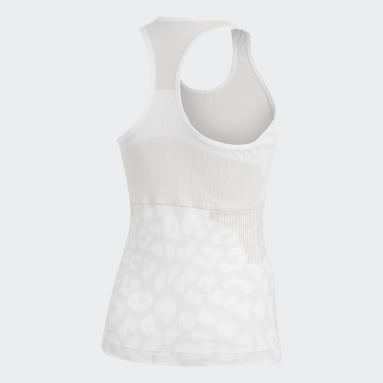 aSMC TANK Blanco Mujer adidas by Stella McCartney
