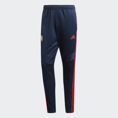Pantalón entrenamiento Arsenal Azul Hombre Fútbol