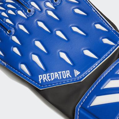 Guantes portero Predator Training Azul Niño Fútbol