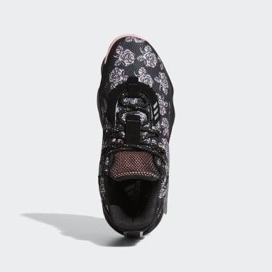 บาสเกตบอล สีดำ รองเท้า Dame 7