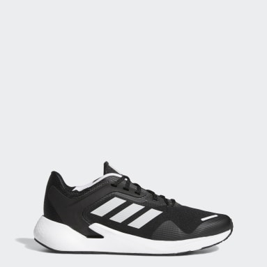 Men Running Black Alphatorsion Shoes