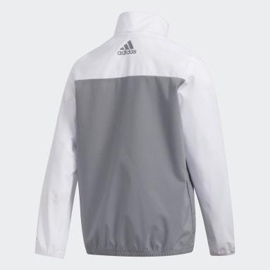 Jungen Golf Provisional Jacke Weiß