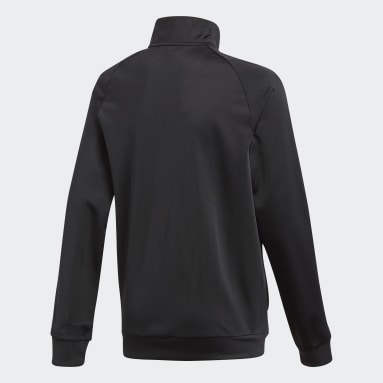 Kids Gym & Training Black Core 18 Track Top